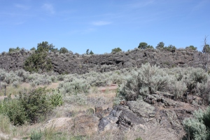 Wall of Basalt - Lava Flow